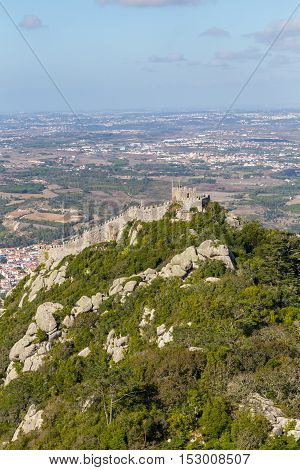 Castle Of The Moors. Sintra. Portugal.