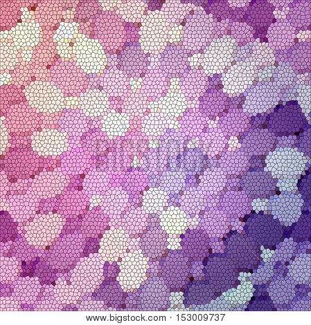 Abstract coloring background of the abstract gradient with visual illusion,mosaic, pinch,spherize and stained glass effects