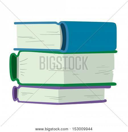 Book icon vector illustration.