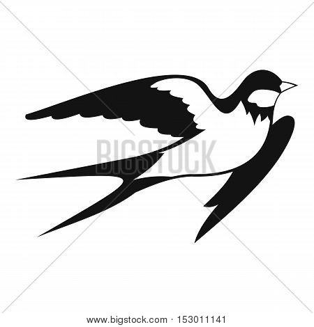 Barn swallow icon. Simple illustration of barn swallow vector icon for web