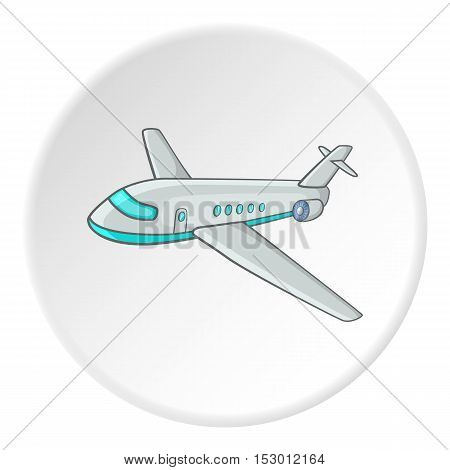 Plane icon. Isometric illustration of plane vector icon for web