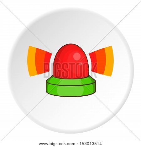 Flasher icon. Cartoon illustration of flasher vector icon for web
