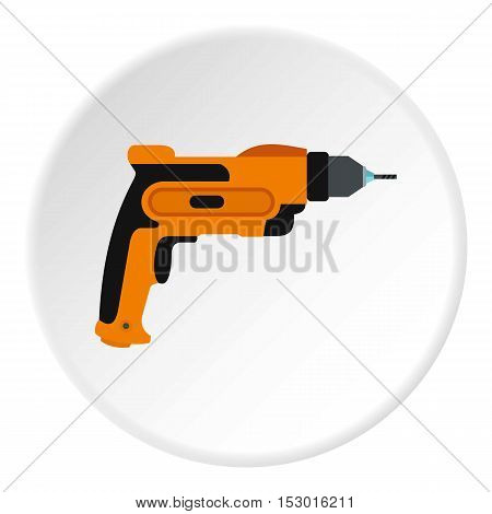 Drill icon. Flat illustration of drill vector icon for web