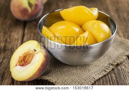 Preserved Peaches