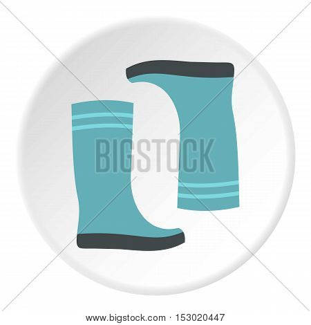 Boots icon. Flat illustration of boots vector icon for web