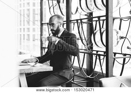 Business Person Work Indoors Concept