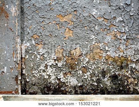 Wood Texture Background with white paint, grey color