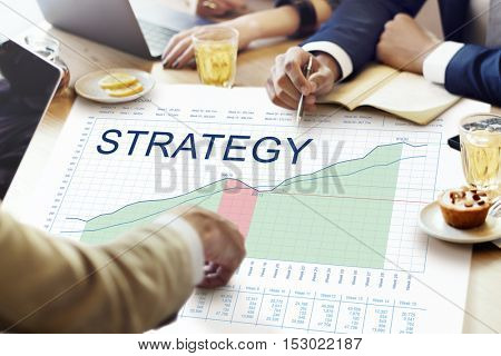 Strategy Analysis Planning Vision Business Success Concept