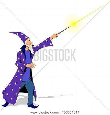 Wizard - Vector illustration - EPS .