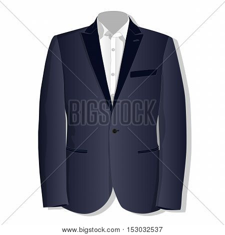 Jacket. Clothes Collection.vector.