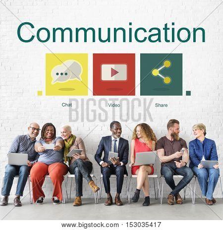 Communication Social Network Internet Concept