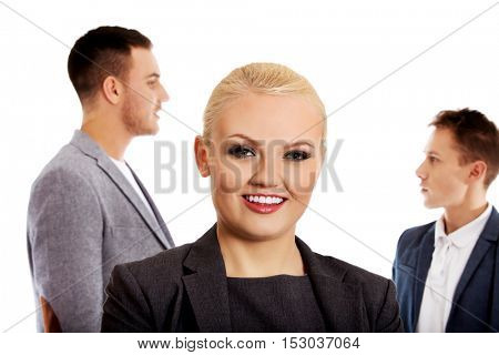 Business people - two man and woman