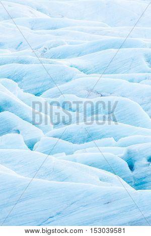 Iceland Glacier Svinafell national park