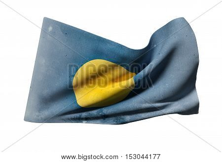 Republic Of Palau Flag