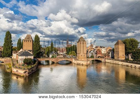 Strasbourg The Capital And Largest City Of The Alsace France