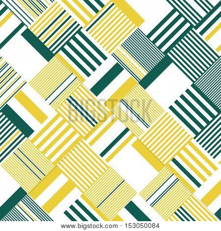 Abstract Diagonal Stripe Pattern. Vector Chaotic Line Background. Modern Graphic Design