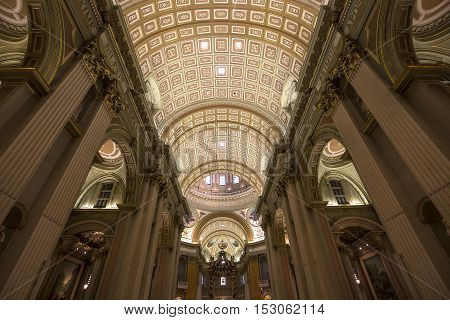 Mary Queen Of The World Basilica, Montreal, Quebec, Canada