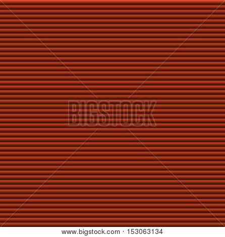 Pattern texture of crumpled paper in the volume of horizontal lines for notes. Can be used for wallpaper, pattern fills, web page background, surface textures. Orange galousie.