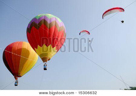 Paragliding At Putrajaya