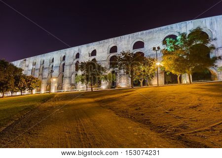 Old aqueduct in Elvas - Portugal
