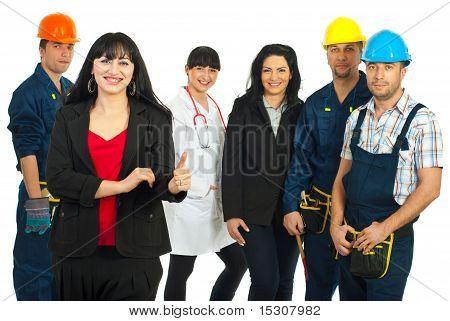 Successful Careers People