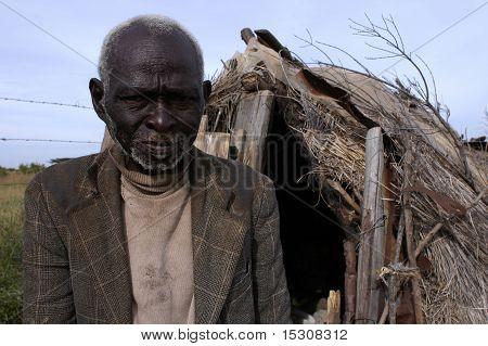 Elderly African