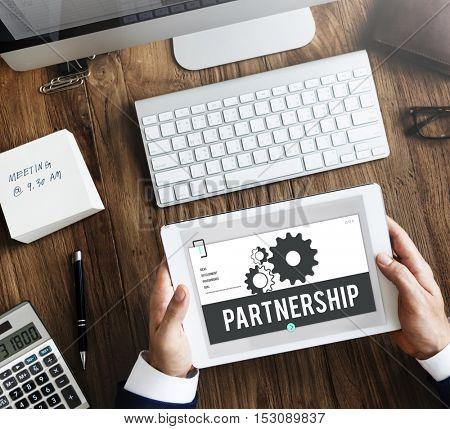 Leadership Partnership Collaboration Team Concept
