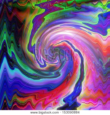 Abstract coloring background of the skyline gradient with visual wave, lighting and twirl effects, good for your project design