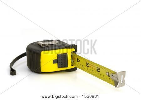 Tape Measure White