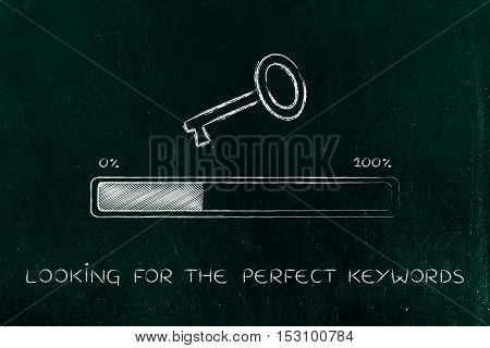 Key With Progress Bar, Keywords Suggesting Tools