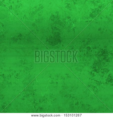Square Grunge Olive Green Background With Weathered Stained Stee