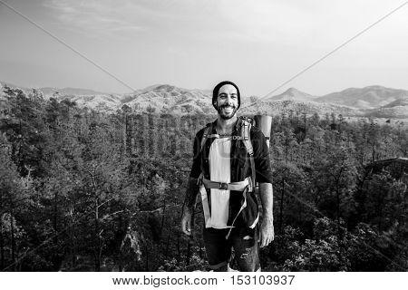 Person Traveler Travel Destination Concept