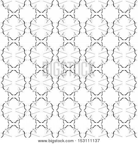 Seamless Pattern. Modern Stylish Texture. Repeating Geometric Tiles