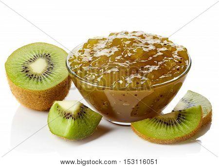 Bowl Of Kiwi Jam