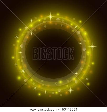 Abstract circle background with place for your text. Vector design.