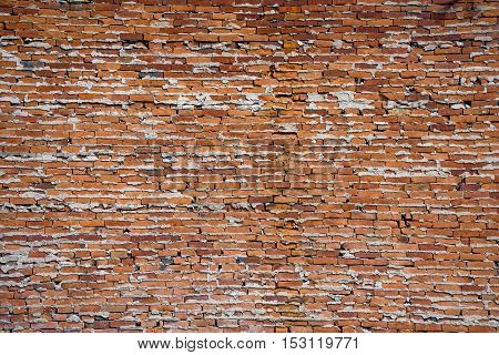 A nineteenth century brick wall taken in Jim Thorpe Pennsylvania.