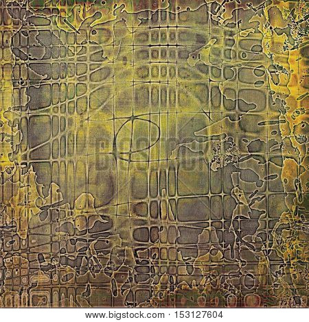 Nice looking grunge texture or abstract background. With different color patterns: yellow (beige); brown; gray; green
