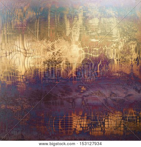 Highly detailed grunge background or scratched vintage texture. With different color patterns: yellow (beige); brown; gray; blue; purple (violet); pink