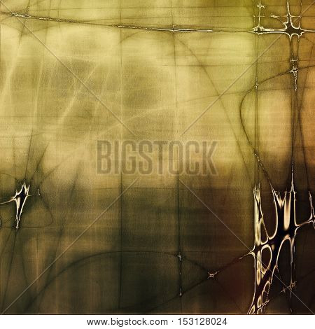 Vintage torn texture or stylish grunge background with ancient design elements and different color patterns: yellow (beige); brown; gray; green; black