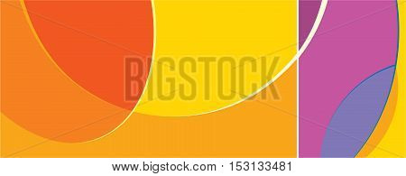 Abstract red and violet shapes swirl  background