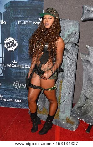 LOS ANGELES - OCT 22:  Eva Marcille at the 2016 Maxim Halloween Party at Shrine Auditorium on October 22, 2016 in Los Angeles, CA