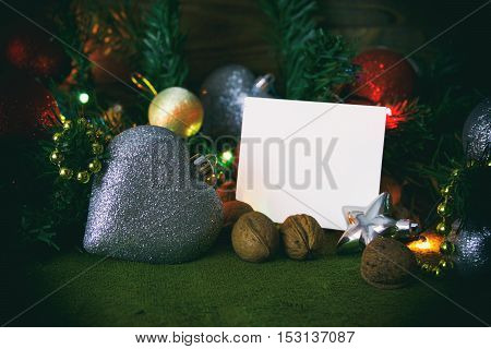 Christmas Toys And Stickers, Christmas Card