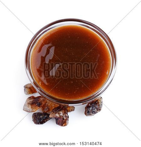 Liquid Caramel And Caramelized Sugar