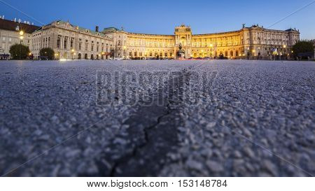 An image of the famous National Library in Vienna Austria