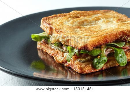 delicious grilled sandwich