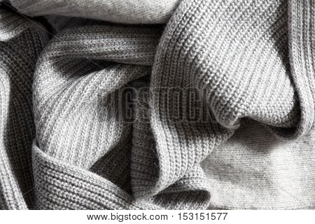 Textile knitted background