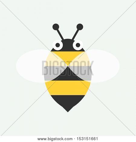 Flat bee