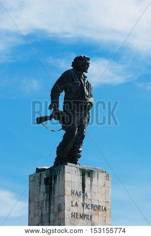 Santa Clara, Cuba - September 13, 2016: Mausoleum von Che Guevara in Santa Clara, Kuba