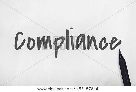 Compliance Core Development Business Concept