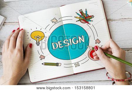 Fresh Ideas Inspire Design Creative Concept